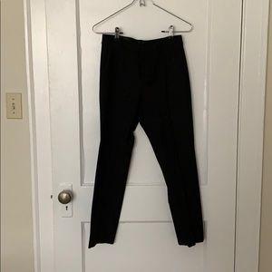 women's banana republic black avery pants
